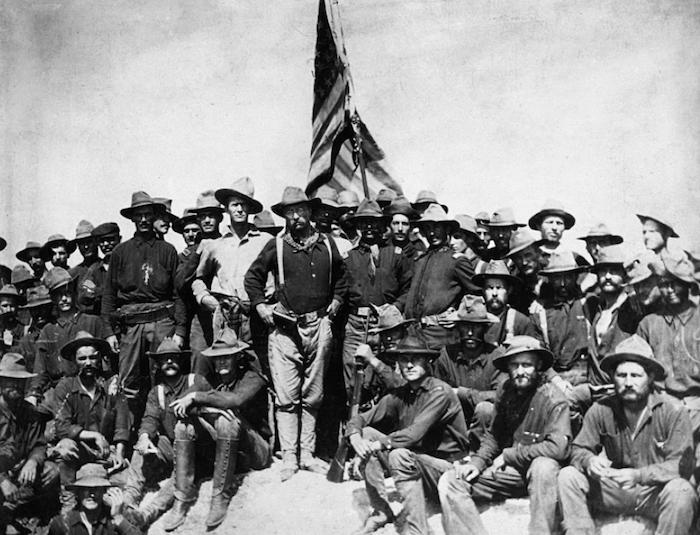 Teddy Roosevelt, Rough Riders