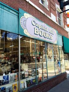 Capitol Hill Books storefront Denver bookstore