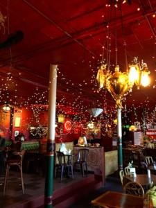 Mercury Cafe interior Denver