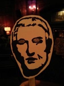 Gertrude Stein mask