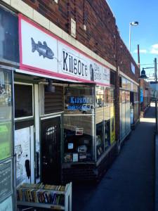 Kilgore Trout bookstore shopfront Denver