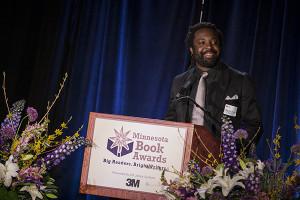 Marlon James. Photo courtesy of The Friends of the Saint Paul Public Library