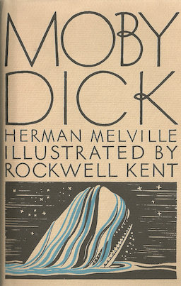 Moby Dick Herman Melville first edition cover