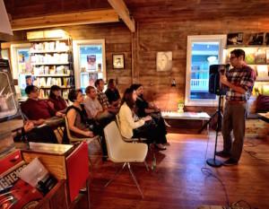 Antonio Ruiz reads at The Wild Detectives/Scott Wayne McDaniel