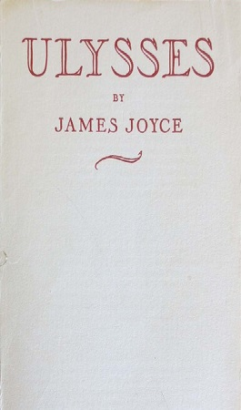 Odyssey Press, 1933. Printed in Hamburg Germany, this edition is considered the most accurate representation of Joyce's original manuscript. After scrutinizing the first edition, Joyce asked Sylvia Beach, who first published Ulysses through her bookstore Shakespeare and Company, to help him correct the many errors he'd found in the first edition. Two years later Ulysses was reset, corrected by Stuart Gilbert under Joyce's supervision, and reprinted by Odyssey Press.