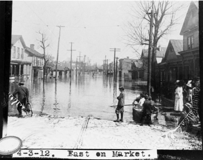 The Memphis flood of 1912, particularly severe in The Pinch.