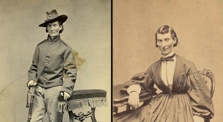Civil War women as men