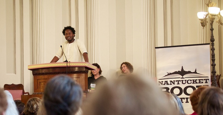Ishmael Beah, on the opening night of the festival.
