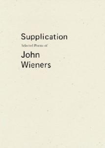 supplication john wieners