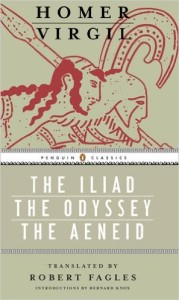 The Iliad, The Odyssey, The Aeneid
