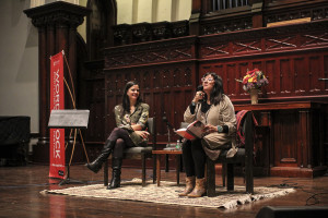 Elena Passarello and Sandra Cisneros
