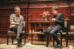 Jon Raymond and Jesse Eisenberg