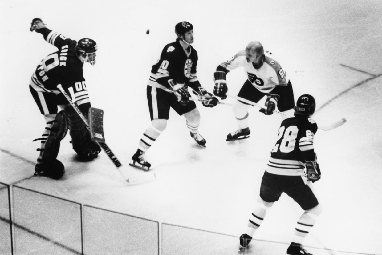 OPEN NET GP in goal w Bruins 5