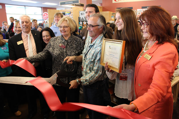 ribbon cutting copperfields