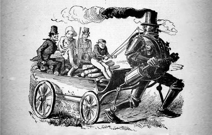 steam man of the prairies