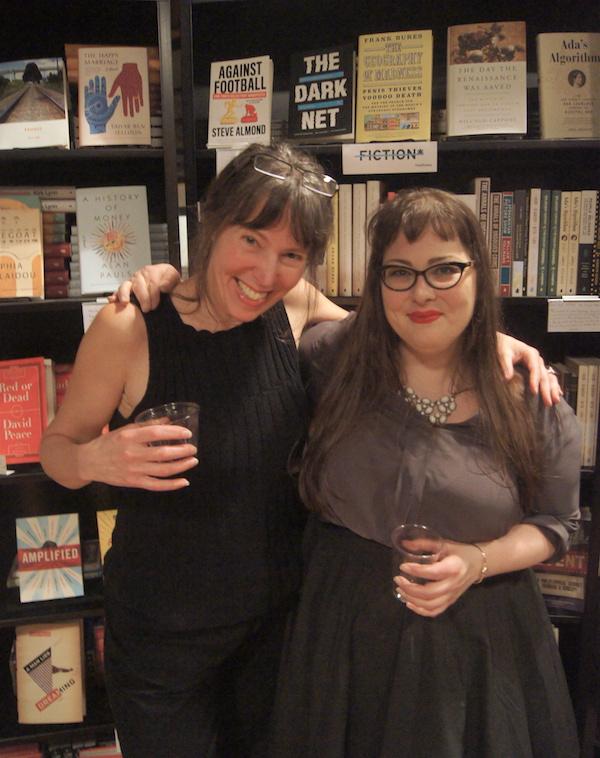 Contributor Cara Benson and final managing editor Ashley Patronyak