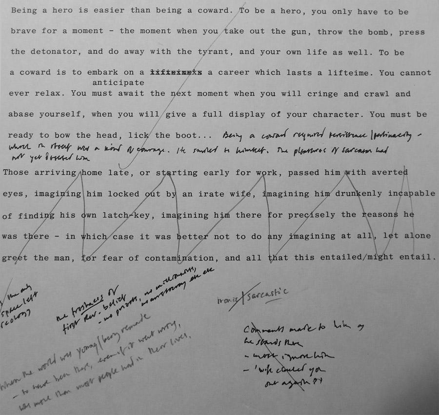 noise of time manuscript