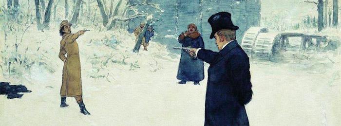 the duel pushkin