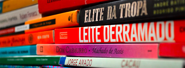 translated book stack
