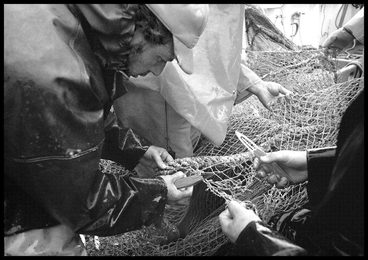 Mending Net, Joseph & Lucia II, 1978