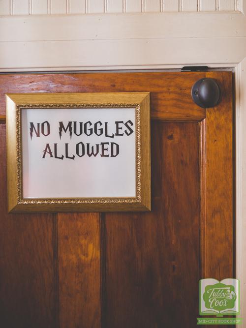 No Muggles Allowed Watermark