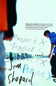 jim shepard project x