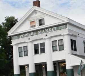 Powers Market, where Shirley Jackson shopped for groceries. (photo by the author)
