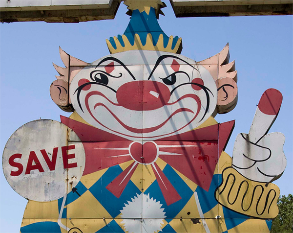 "The ""Evil Clown of Middletown"""