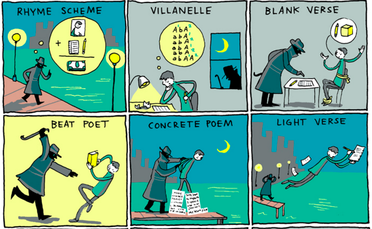 You Should Be Reading These Literary Comics | Literary Hub