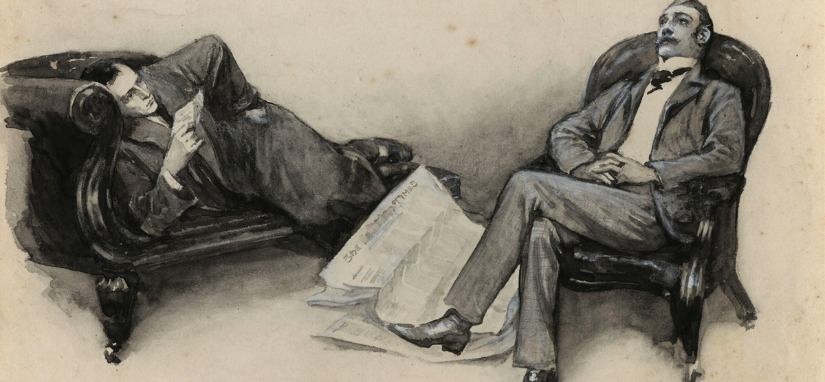 How Sherlock Holmes Got His Name Literary Hub