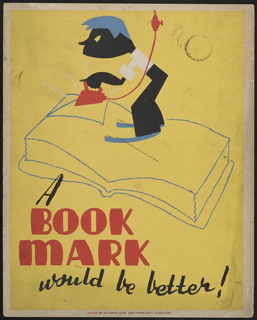 from the library of congress work projects administration poster collection