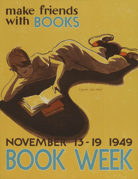 31 Vintage Posters That Demand You Pick Up a Book   Literary Hub