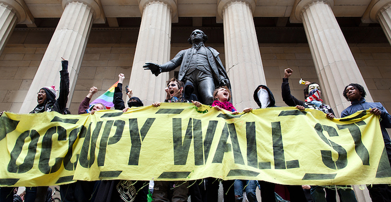 The Literary Legacy of Occupy Wall Street Literary Hub