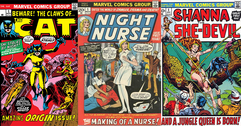 marvel the cat night nurse shanna the she-devil