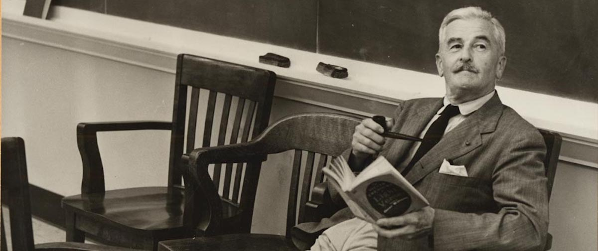20 Pieces of Writing Advice from William Faulkner