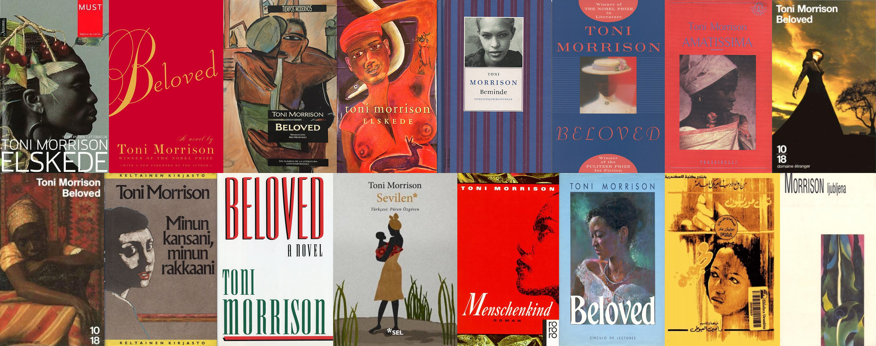 75 Covers of Toni Morrison's Beloved From Around the World