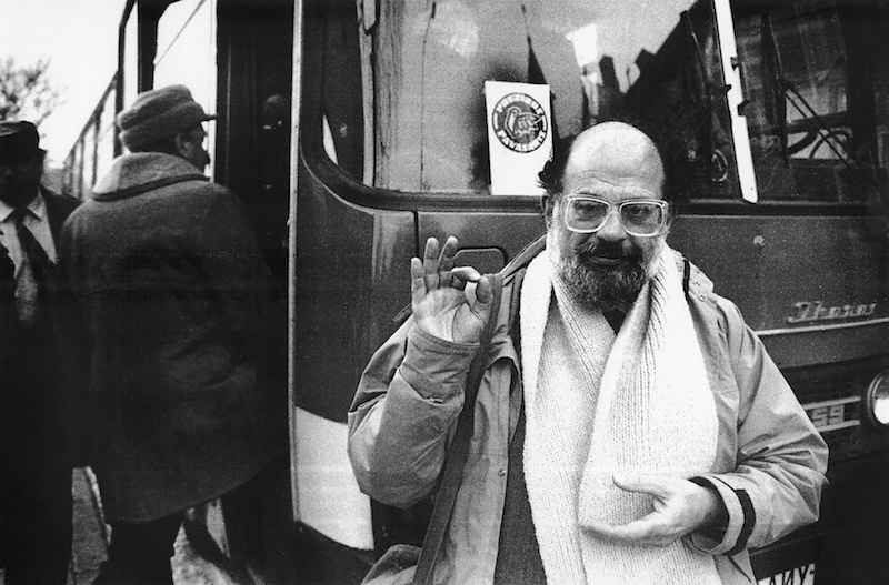 allen ginsberg in vinius 1985