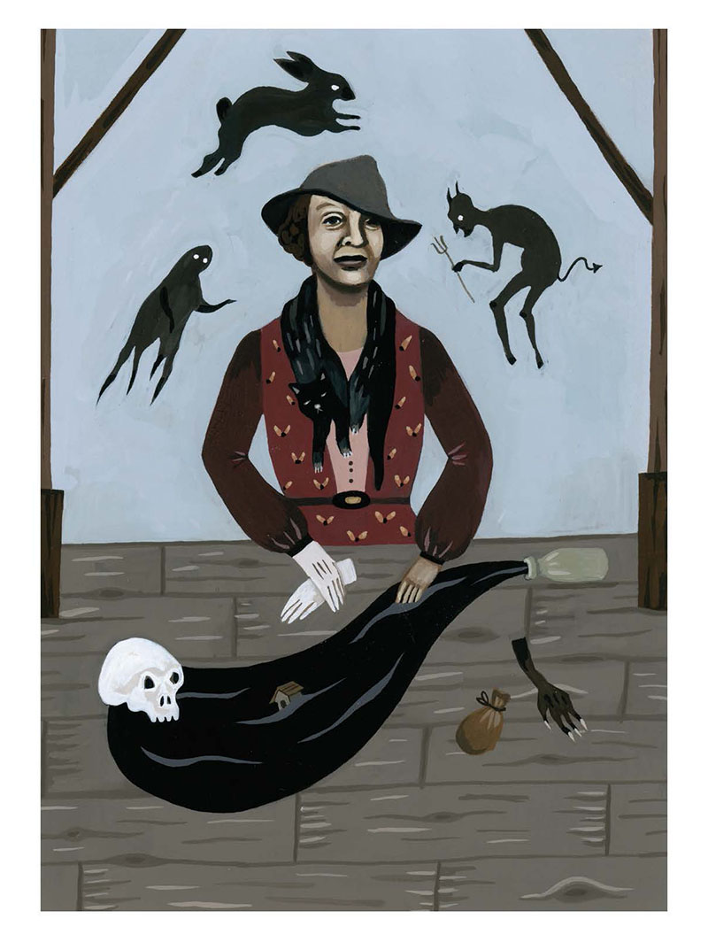 zora neale hurston literary witch