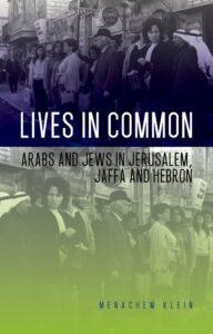 Lives in Common, Menachem Klein