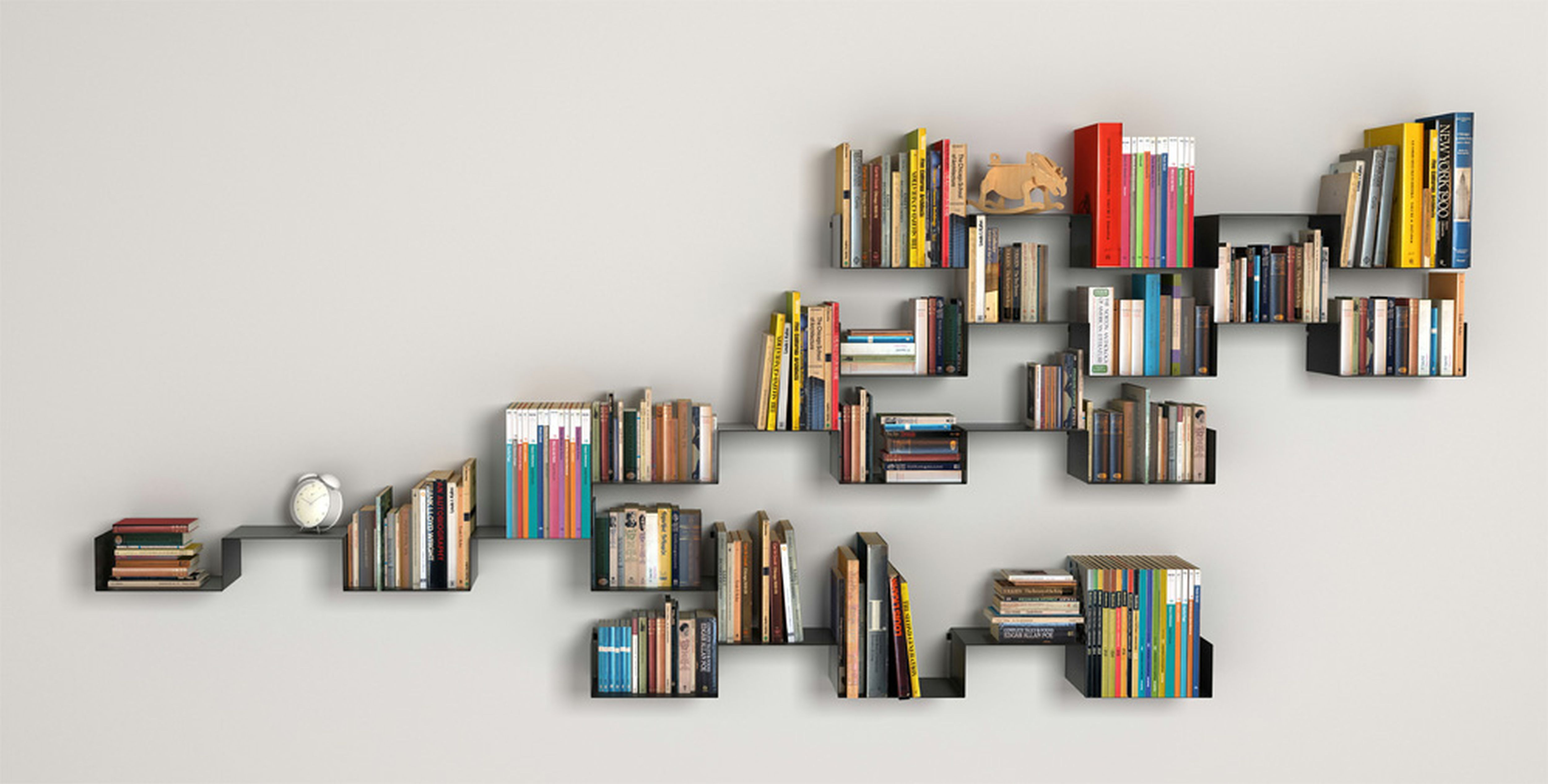 how 11 writers organize their personal libraries literary hub - Funky Bookshelves