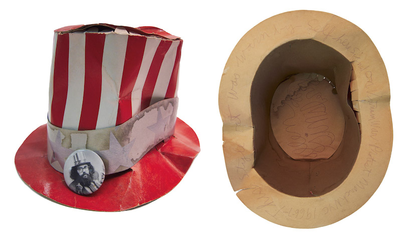 Allen Ginsberg's Stars and Stripes Hat