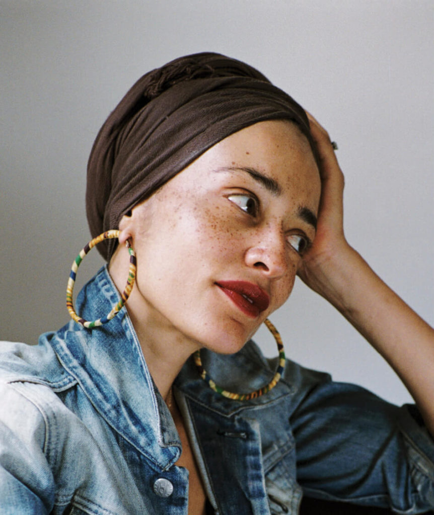 zadie smith author photo