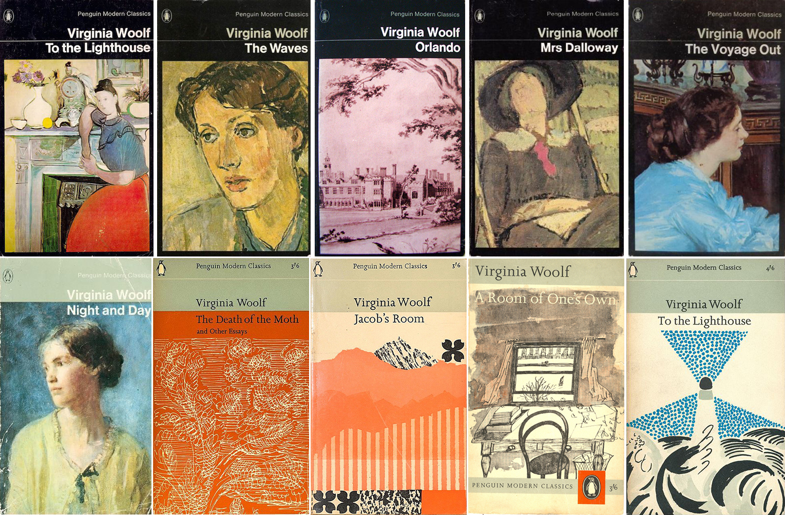 Virginia Woolf Penguin Modern Classics