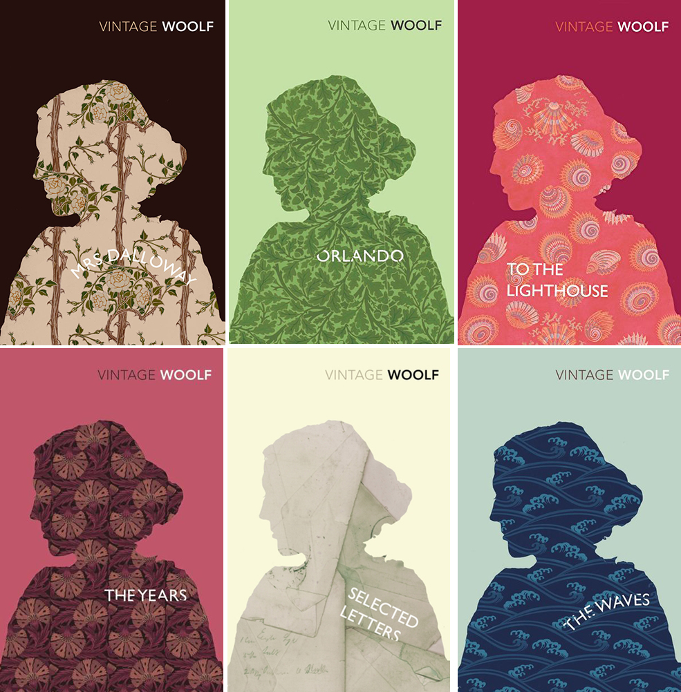 virginia woolf Vintage Classics editions, 2004-2008