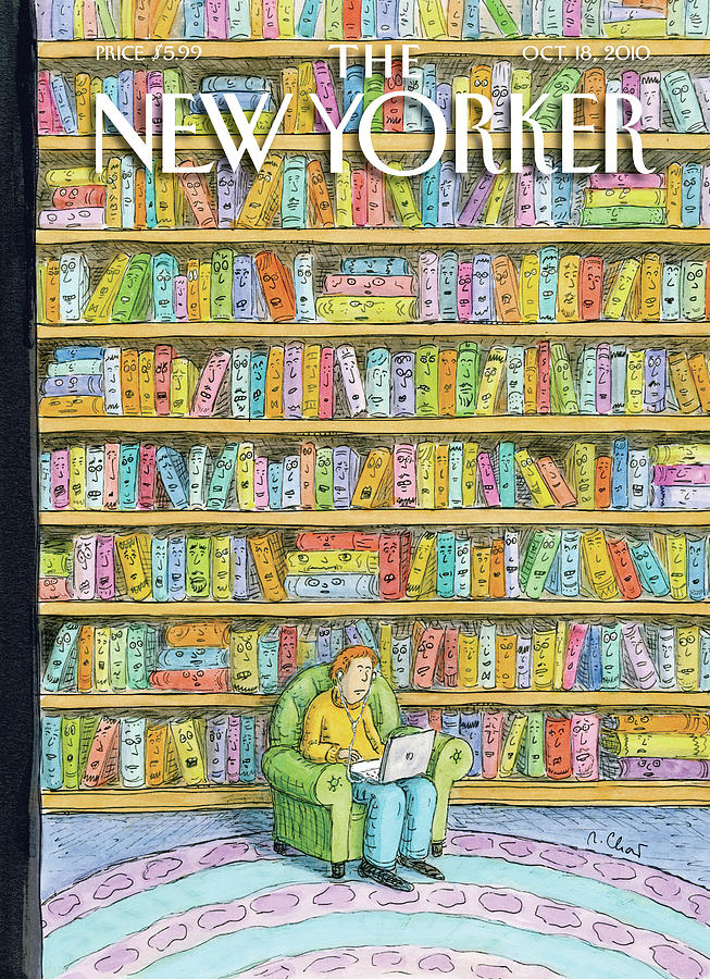 """Shelved,"" by Roz Chast, October 18, 2010"