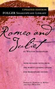 romeo and juliet book cover
