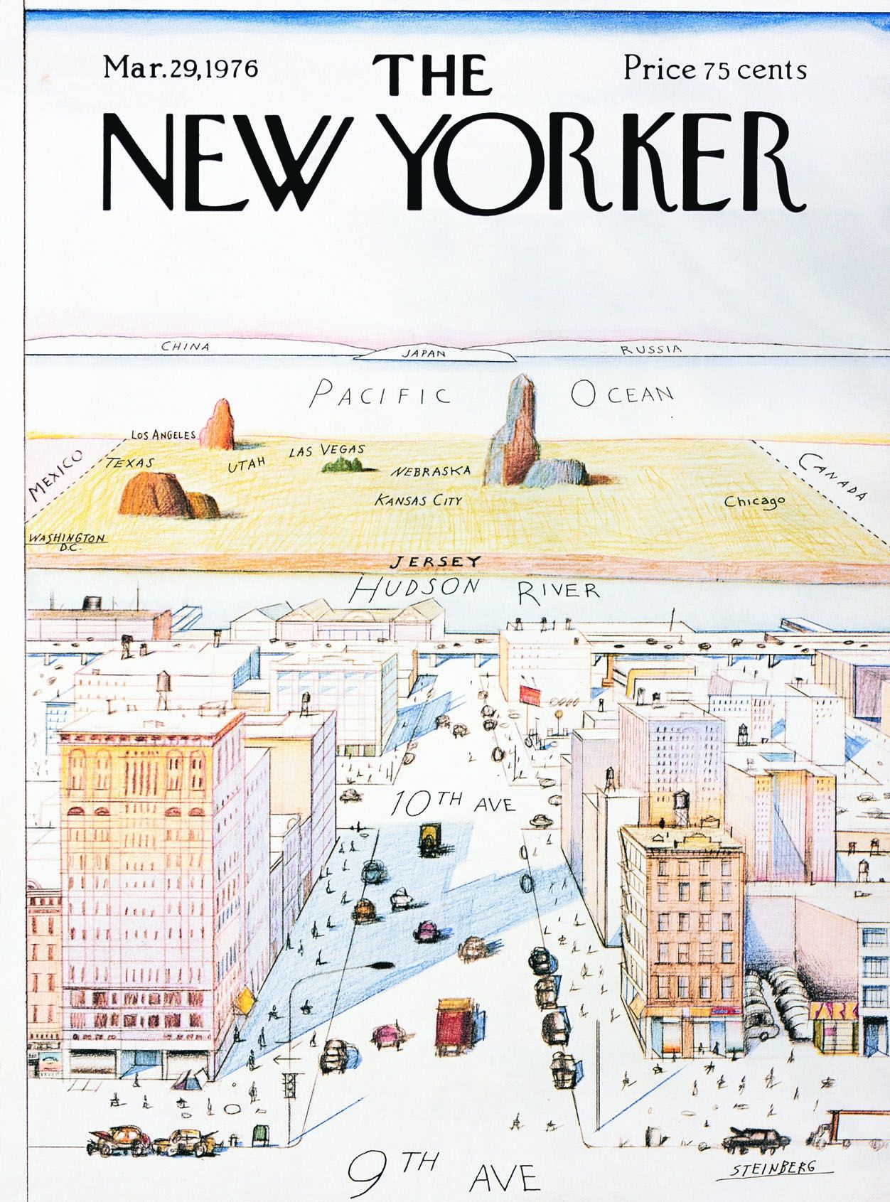 20 Iconic New Yorker Covers | Literary Hub