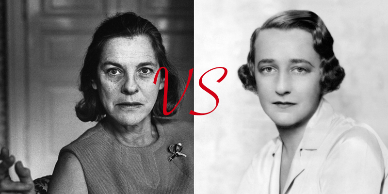 Mary McCarthy vs. Lillian Hellman