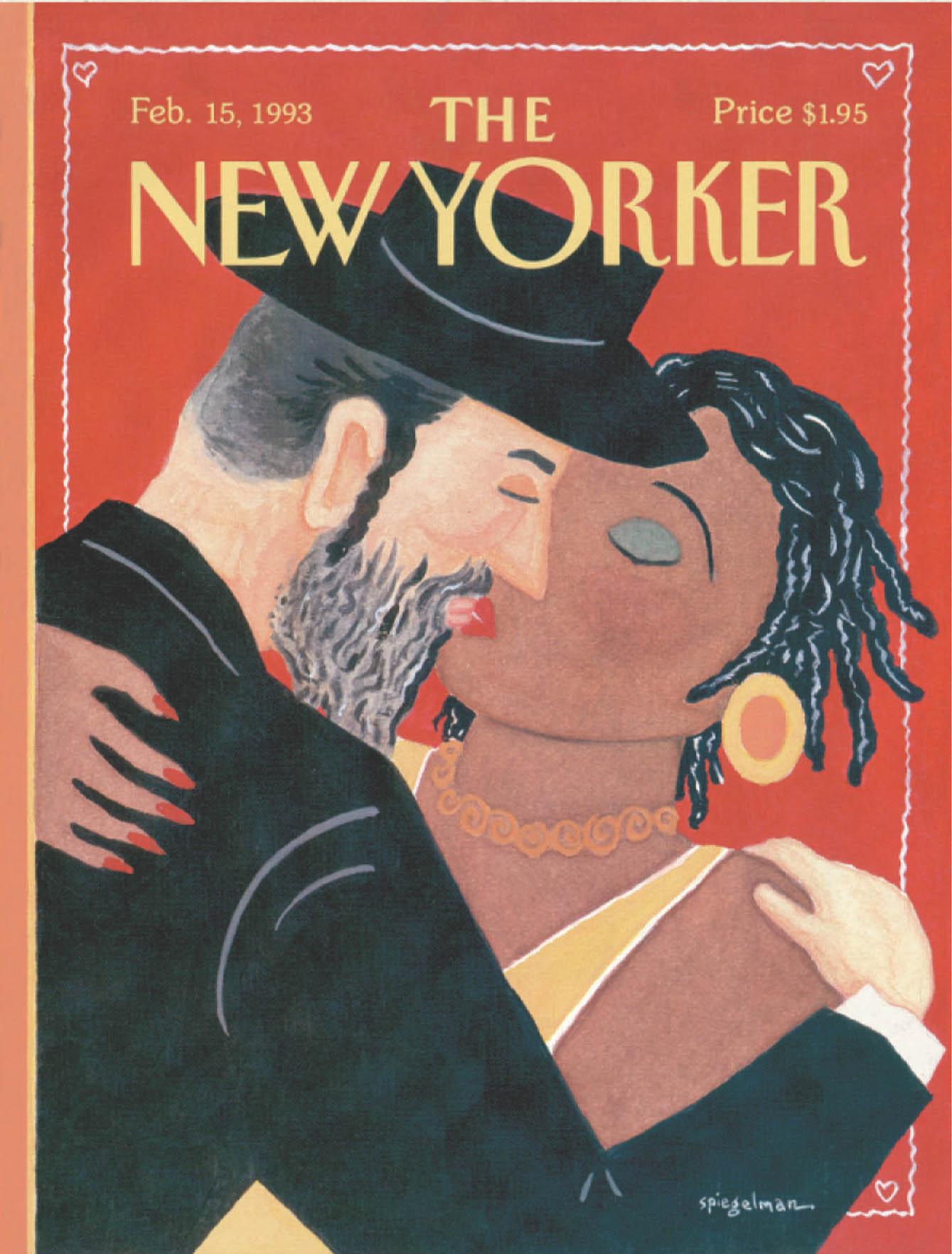 """The Kiss,"" by Art Spiegelman, February 15, 1993"