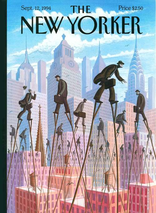life at the top by eric drooker september 12